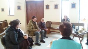 Aurelijus Barkauskas bando prakalbinti savo grupelės narius